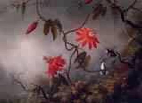 Passion Flowers and Hummingbirds 1870 1883jpeg